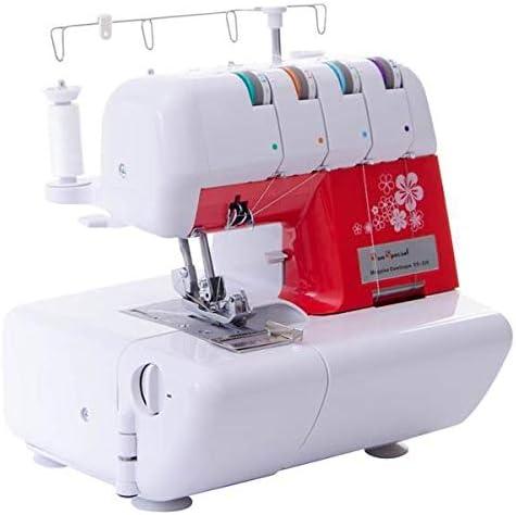 Máquina de Costura Doméstica Overloque Ss-320 Sun Point Vermelha 220 Volts por Sun Special