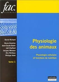 Physiologie des animaux par Richard