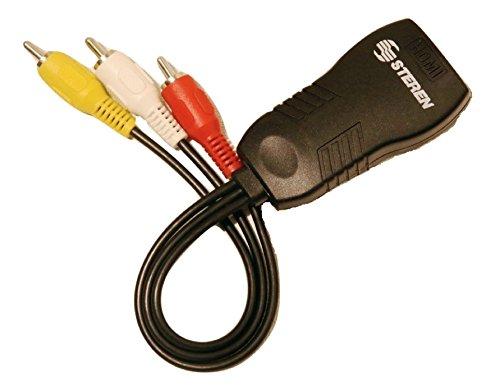 Steren Digital signal to analog DTV Converter Black (BL-526-020) by Steren