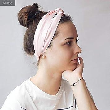 aace0e8a2f9 Amazon.com   LilySilk Silk Headband 1pc Criss Cross Head Wrap ...