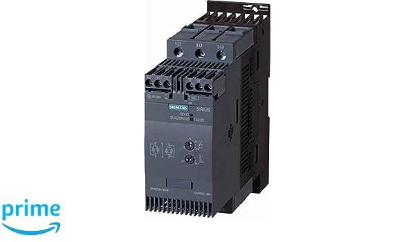 Siemens sirius - Arrancador tamaño s3 80a 45kw 400v conexion tornillo: Amazon.es: Bricolaje y herramientas