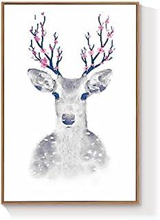 HZF-Moderno e Minimalista della Pittura di Elk, Living Room Decoration Pittura, Divano, pitture murali,b 34 murali