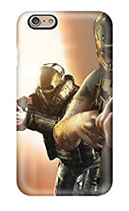High Grade ZippyDoritEduard Flexible Tpu Case For Iphone 6 - Video Game Army Of Two by icecream design