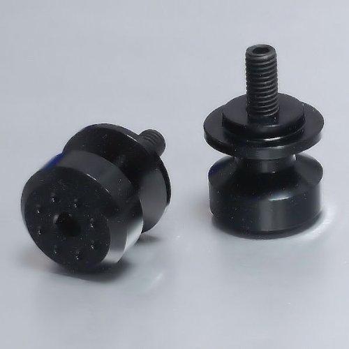 Aluminium Pair Paddock Stand Bobbins M8 Black