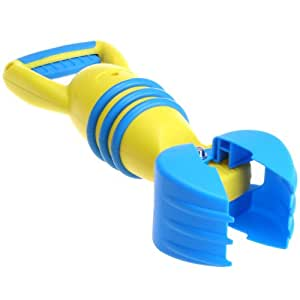 Hape - Excavadora para playa, color amarillo (0HPE4007)