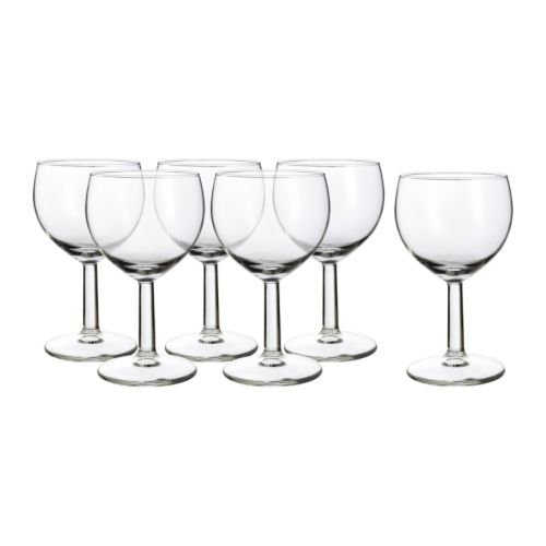 Swish Series - Wine Glass By Ikea- Forsiktigt (Svalka) Series