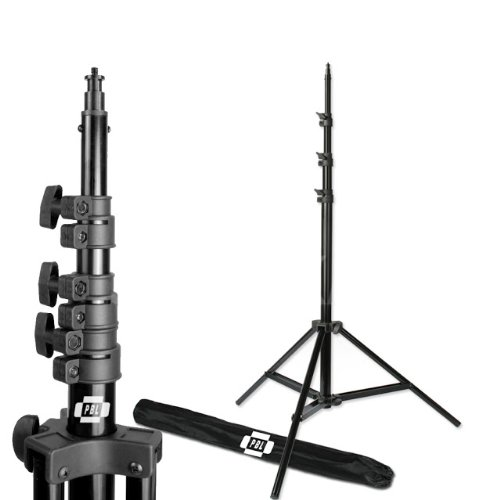 PBL Pro Heavy Duty 10ft Light Stand, Air Cushioned for Photo or Video PhotographicLighting from PBL