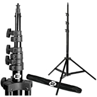 PBL Pro Heavy Duty 10ft Light Stand, Air Cushioned, for Photo or Video, Photographic Lighting