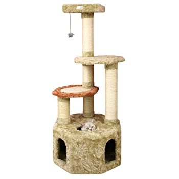 Image of Armarkat Premium Cat Tree Model X5703, Khaki Pet Supplies