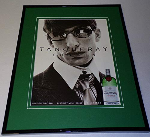 (1999 Tanqueray Dry Gin Framed 11x14 ORIGINAL Advertisement)