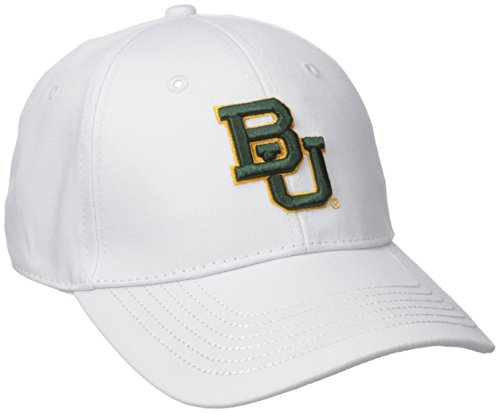 A Baylor Bears Structured Epic Cap, Adjustable Size, White ()
