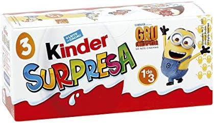 Ferrero - Kinder sorpresa huevos kinder caja p-3 96gr: Amazon.es: Alimentación y bebidas
