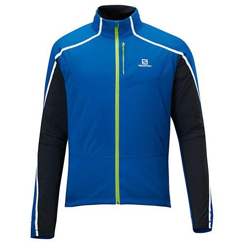 Salomon Dynamics Cross Country Ski Jacket Black/Matidor-X/Black Mens