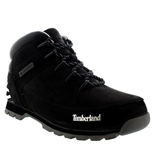 Timberland Euro Sprint Hiker Black Nubuck CA18DM, Boots - 45.5 EU
