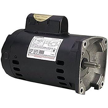 a o  smith century b2843 square flange 2hp 3450rpm single speed pool pump  motor