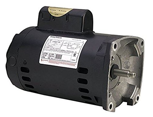 A.O. Smith Century B2843 Square Flange 2HP 3450RPM Single Speed Pool Pump Motor ()