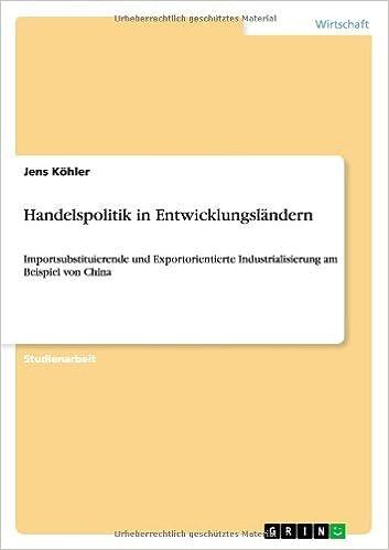 Book Handelspolitik in Entwicklungsländern