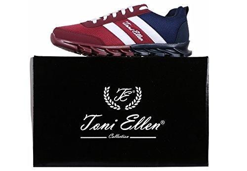 Blu Ellen 44 Unisex Adulti Uomo Blu Toni Donna 40 Scarpe Sneaker EU Scarpe sportive Camel RYOqdnTw