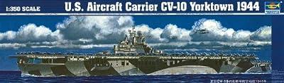 Trumpeter 1/350 U.S. Aircraft Carrier CV-10 Yorktown 1944