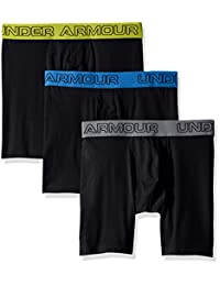 "Under Armour Men's Charged Cotton Stretch 6"" Boxerjock - 3-Pack"