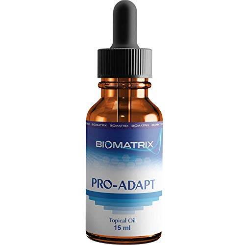 Pro-Adapt (4 mg per Drop, 500 Drops) - Bioidentical Progesterone Oil Stabilized with Premium Tocopherols, 50% More Product Than Competitors, Balance Female Hormones, Support Menopause PMS ()