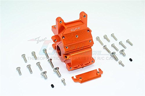 G.P.M. Arrma Kraton 6S BLX (AR106005 106015 106018) Aluminum Front Or Rear Gear Box  1 Set orange