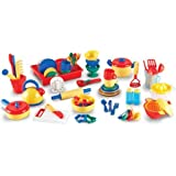 learning resources pots and pans - Learning Resources Pretend and Play Kitchen Set