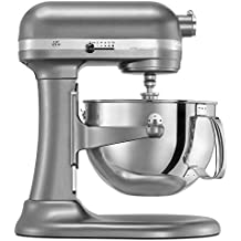 KitchenAid Factory Professional 600 6-Qt. Bowl-Lift Stand Mixer - Cocoa Silver (Renewed)