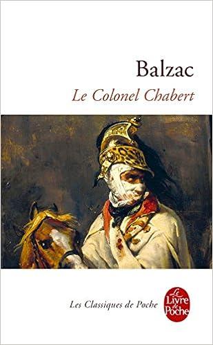 Amazon Com Le Colonel Chabert Le Livre De Poche