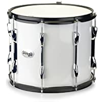 Stagg MATD-1412 14x12 inch Marching Tenor Drum Package - White