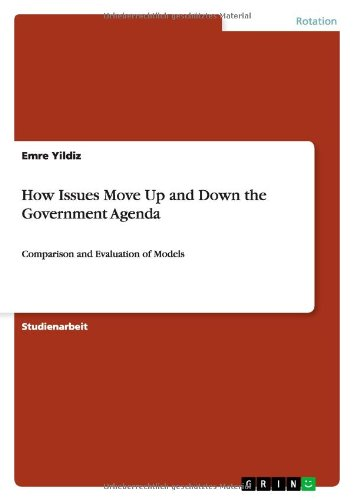 How Issues Move Up and Down the Government Agenda: Amazon.es ...