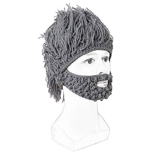 1 Tamaño Sombrero Halloween deportivo libre regalo Cap con Bluetooth gris Gris al aire divertido en Halloween peluca 2 libre para 66wvqran