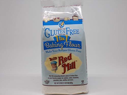 (Bob's Red Mill Gluten Free 1 to 1 Baking Flour 22 oz (623 grams) Pkg)