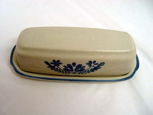 Pfaltzgraff USA Stoneware Yorktowne Quarter Pound Covered Butter Replacement Dish ()