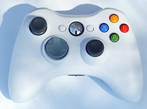 Wireless Game Remote Controller for Xbox 360 +Receiver White - 1