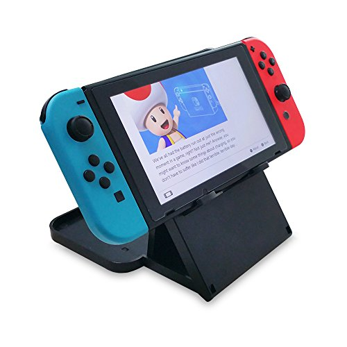 Collapsible Playstand for Nintendo Switch, FastSnail Nintendo Switch Stand with Height Adjustable, Portable Bracket with Airflow Holes