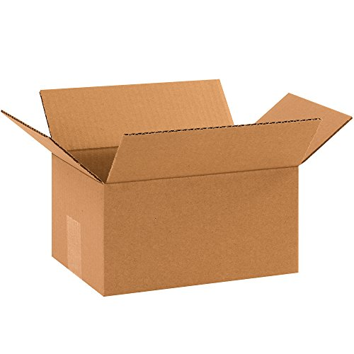 """Partners Brand P1075 Corrugated Boxes, 10""""L x 7""""W x 5""""H, Kraft (Pack of 25) from Partners Brand"""