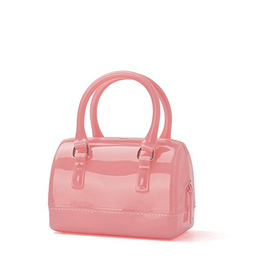 Girls Jelly Mini Candy Handbag Crossbody Shoulder Bags for Summer (Translucent -