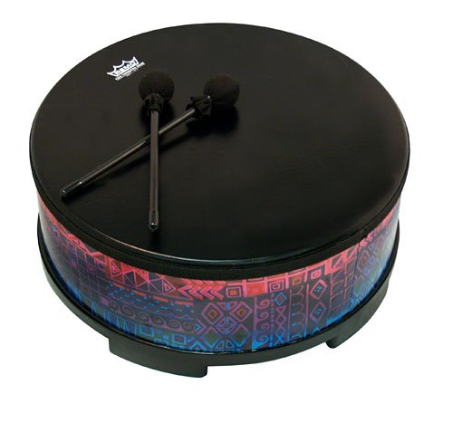 Remo E35818-17 18-Inch Gathering Drum, Rainbow by Remo