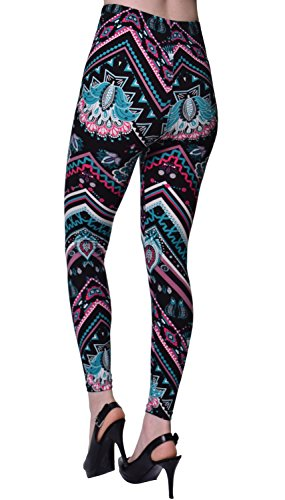 1358fa28d0d33 VIV Collection Popular Printed Brushed Buttery Soft Leggings Regular Plus 40+  Designs List 1