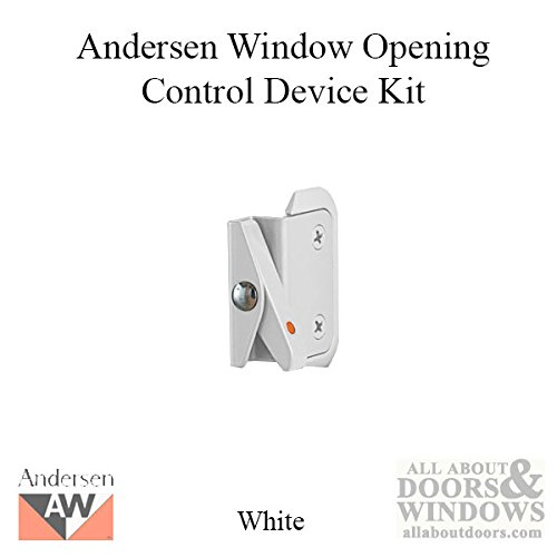 Andersen Double-Hung Window Opening Control Device Kit in White Color by Andersen
