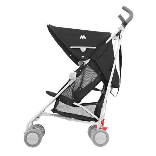 413GChYslgL - Maclaren Sherpa Stroller - Super Lightweight, Sleek, Compact, Easy To Steer, Waterproof/UPF 50+ Hood, Roomy Shopping Basket, Single Position Seat, Replaceable Parts Available