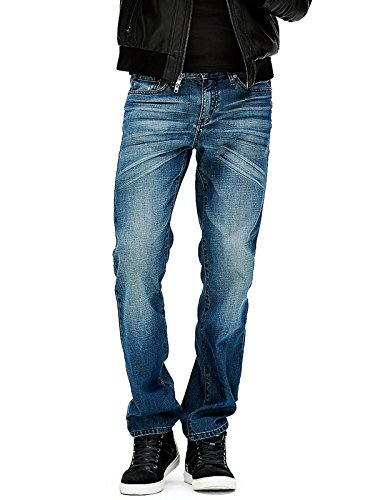 Guess Factory Men's Delmar Slim Straight Jeans (Guess Jeans Men)