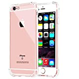 Impact Resistant clear Cover iPhone 6 6s Card Case,ibarbe Protective Shell Shockproof Heavy Duty TPU Bumper Case Anti-scratches EXTREME Protection Cover Heavy Duty Case for iPhone 6 6S 4.7'