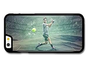 Roger Federer Green Stadium Tennis Player case for iPhone 6