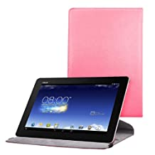 kwmobile Case 360° for Asus Memo Pad FHD 10 Case with stand - protective tablet cover with standing function in dark pink