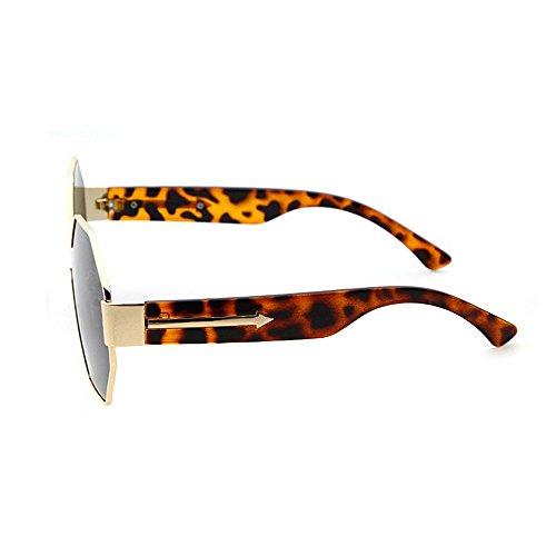 de Marrón metálico de Sol Gafas la del de una Conducir del Polígono Sola Mujeres Marco del para Protección Las Color Peggy de de Las Pieza Gu Gris Vacaciones Verano Las Playa UV AOYq8Y