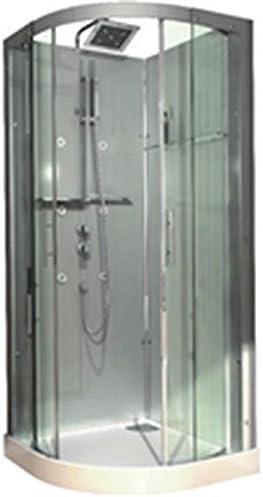 Cabina Domino completa, Quart de redondo, 90 x 90 cm, version ...