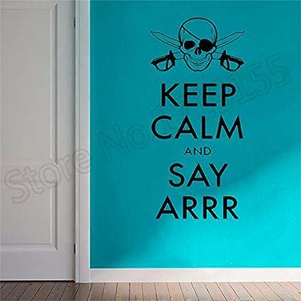 conception de la variété divers styles profitez de la livraison gratuite Shentop Corsair Quote Pirate Crâne Ados Chambre Décor ...