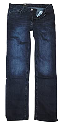 Calvin Klein Mens Classic Straight Leg Jeans, Indigenous, 36 x 30